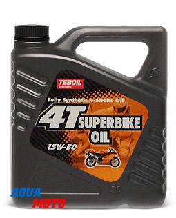 Масло Teboil 4T SuperBike Oil 15W-50 1л