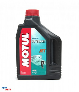 Масло MOTUL Outboard  2T 2л new